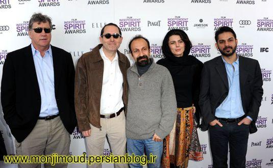 عکس پیمان معادی لیلا حاتمی و اصغر فرهادی