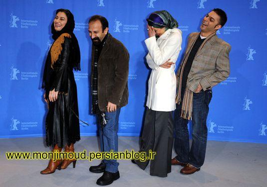 اصغر فرهادی در جشنواره فیلم برلین آلمان