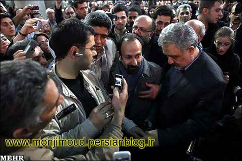 استقبال از اصغر فرهادی در تهران