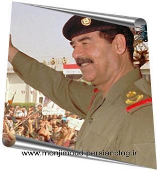 صدام حسین رئیس جمهور خلع شده عراق